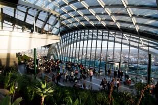 sky garden view