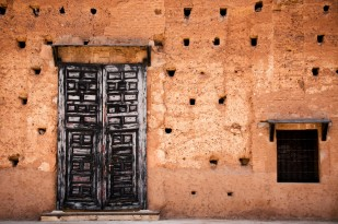 Old doors at El Badi Palace