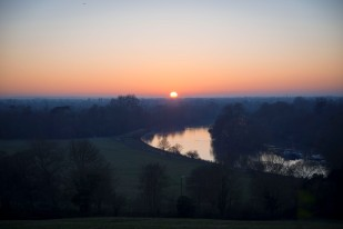 Sunset at Richmond Park